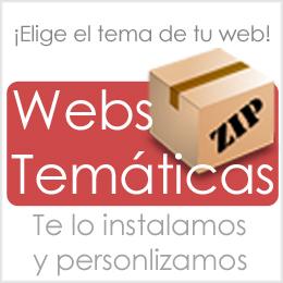Webs temáticas