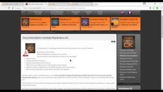 Administración de Pagina Web con Joomla 3.7