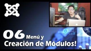 6. Creación de Menú en Joomla 3.5 (Módulos tipo Menú)