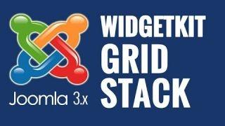 Joomla 3.x: Creando un GRID STACK con Widgetkit