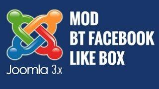 Joomla 3.x: BT Facebook Like Box