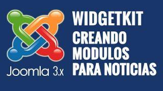 Joomla 3.x: Creando módulos para noticias utilizando Widgetkit