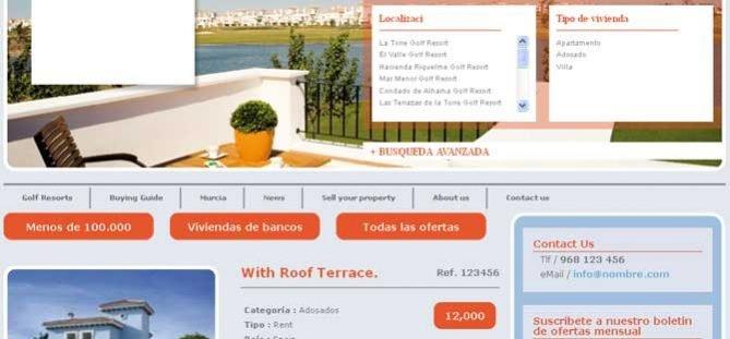 Inmobiliaria Joomla a Medida