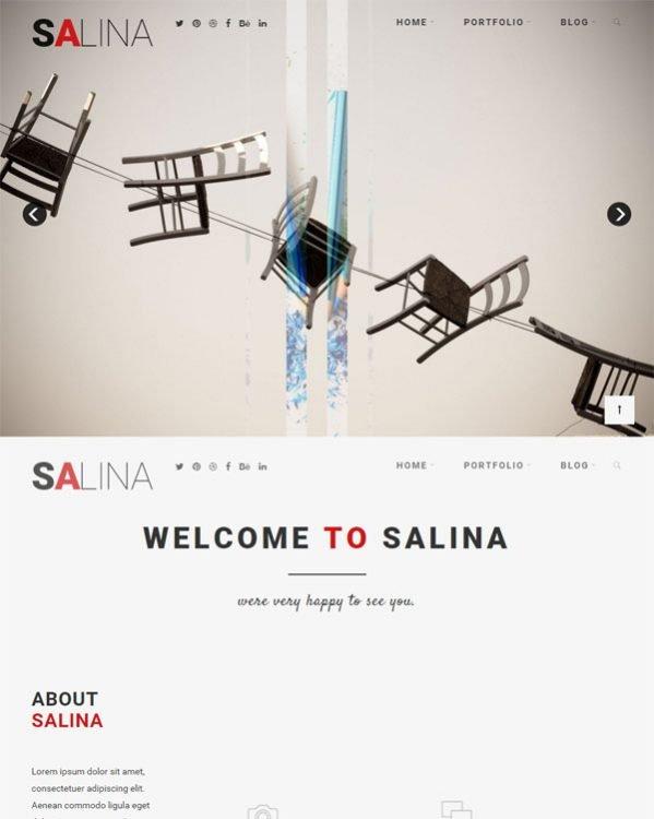 Plantilla Joomla 3 gratuita JF SALINA