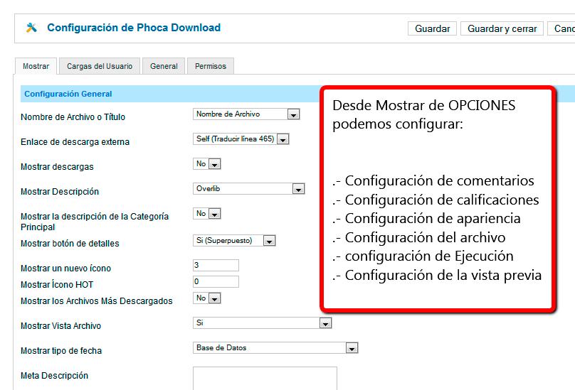 Vista Phoca download