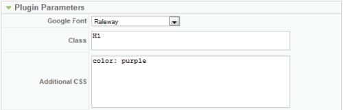 Cómo agregar fuentes de Google Fonts a plantillas Joomla